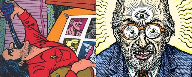 Art Spiegelman, Co-mix, à la BPI (21 mars-21 mai)/ Crumb : De l'Underground à la Genèse, Musée d'art moderne de la ville de Paris (13 avril-19 aout)