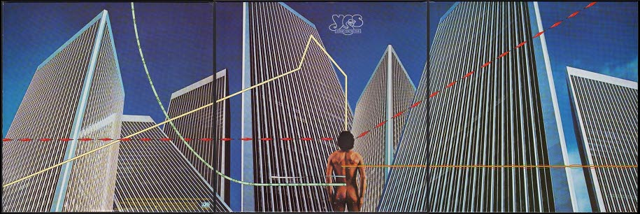 Yes, Going for the One, 1977. Xonception : Hipgnosis