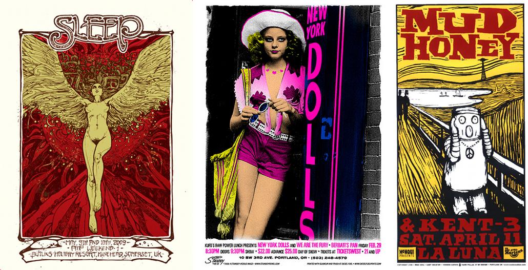 Rock Poster Art : affiches de concerts et renouveau de la