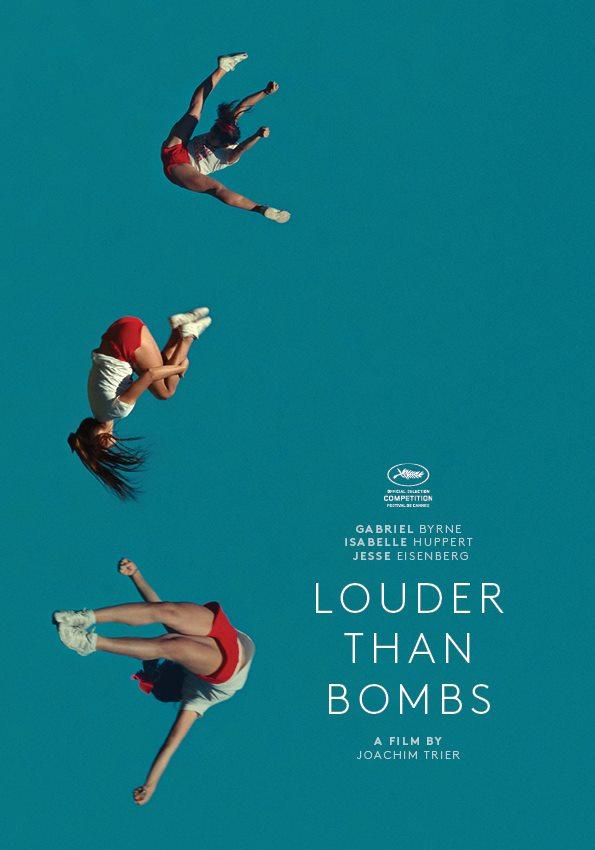 Une affiche très graphique pour le nouveau film de Joachim Trier où Isabelle Huppert interprète une photographe célèbre...